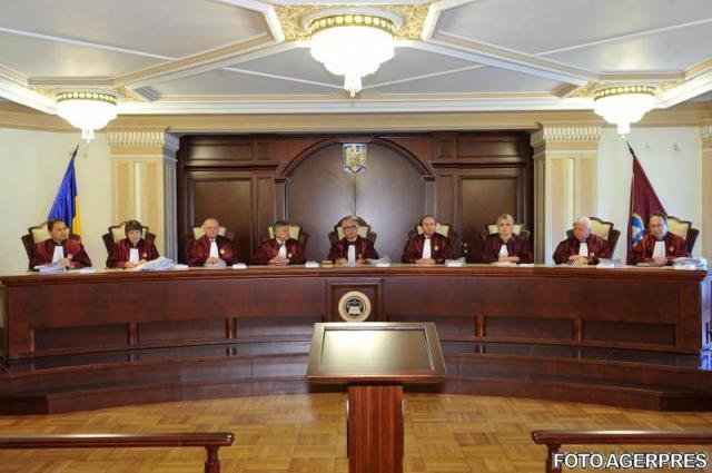 Curtea Constitutionala a Romaniei Romanian Supreme Court FOTO AGERPRES April 19, 2016